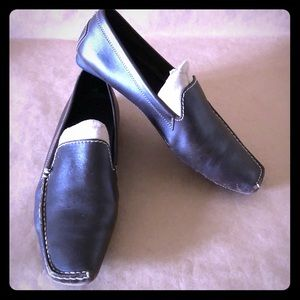 TOD'S Brown Leather Loafers ITALY SZ 9
